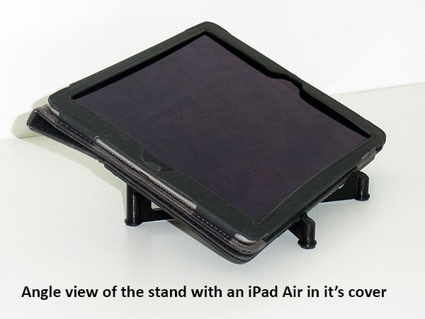 angle_display_large.jpg Download free STL file Tablet Stand - Modern style iPad / Tablet stand for use on a desk • 3D printing object, Muzz64