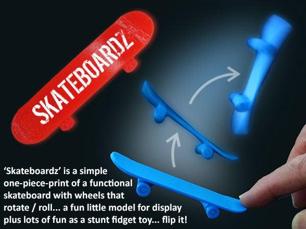 5bcbf64735b6596b99455ce27d13de20_display_large.jpg Download free STL file Skateboardz • 3D printer design, Muzz64