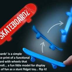 Download free 3D printing files Skateboardz, Muzz64