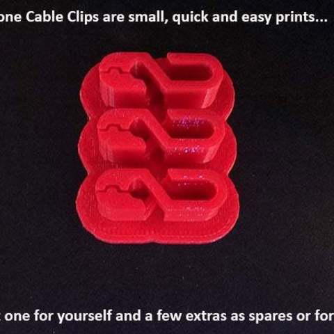 f87415b8dbcb49f3aea262417d2dea5d_display_large.jpg Download free STL file Earphone Cable Clip • 3D print design, Muzz64