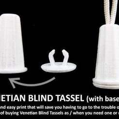Descargar modelos 3D gratis Borla ciega veneciana (con tapa), Muzz64