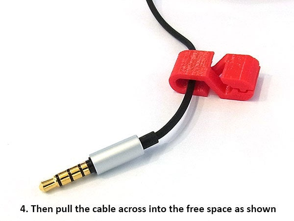 54df23f70acfb5f89c9dc695f0111535_display_large.jpg Download free STL file Earphone Cable Clip • 3D print design, Muzz64