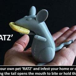 Download free 3D printing designs RATZ, Muzz64