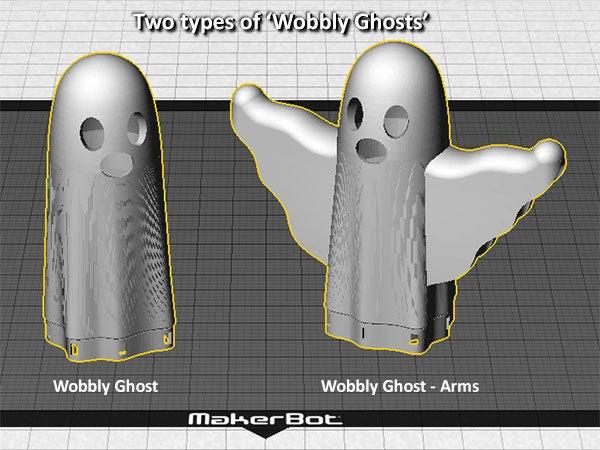 types_display_large.jpg Télécharger fichier STL gratuit Fantômes vacillants ! • Design à imprimer en 3D, Muzz64
