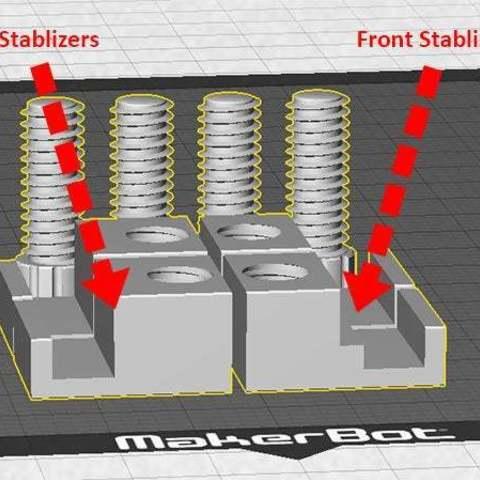 front-rear_display_large.jpg Télécharger fichier STL gratuit Réplicateurs de 5ème génération pour la fabrication de plaques stablizers • Plan à imprimer en 3D, Muzz64