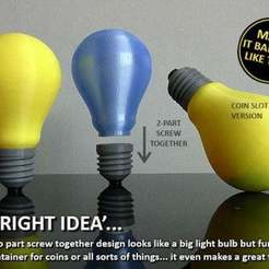 Download free STL file A 'Bright' Idea'..., Muzz64