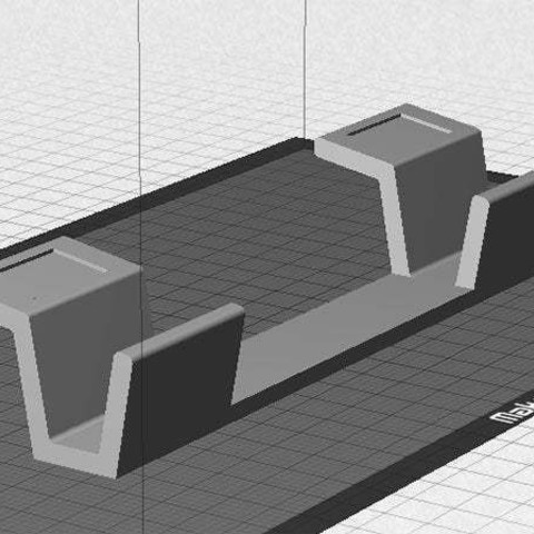 "desktop_display_large.jpg Download free STL file ""Tilt Bar"" angles Laptop Keyboards for improved comfort, ease of use and convenience • 3D printing design, Muzz64"