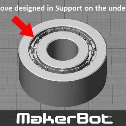 support_display_large.jpg Download free STL file Bearing - Needle Roller type one piece print (with minimal support to remove) • 3D printer template, Muzz64