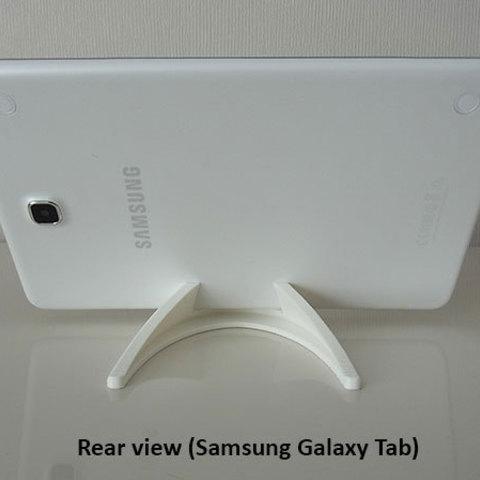 51720d8d39394272690b6c193d360915_display_large.jpg Télécharger fichier STL gratuit Tablette / Support Téléphone • Modèle à imprimer en 3D, Muzz64