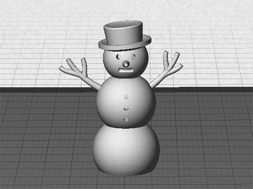 snowman_display_large.jpg Download free STL file Snowman • Object to 3D print, Muzz64