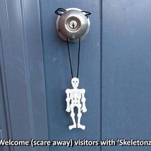 welcome_display_large.jpg Download free STL file 'Skeletonz' • 3D printing object, Muzz64
