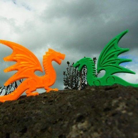 Descargar Modelos 3D para imprimir gratis Dragón, Muzz64