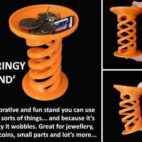 Download free 3D printing files Springy Stand, Muzz64