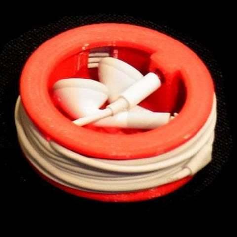 Descargar modelo 3D gratis Tapón para los oídos - Protege los tapones y asegura el cable., Muzz64