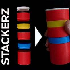 Download free 3D model Interlocking Stackerz, Muzz64