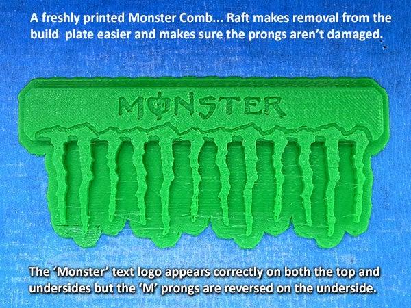 3c532daaa05de3314d4025fc659f21b0_display_large.jpg Download free STL file 'Monster' Comb • Object to 3D print, Muzz64