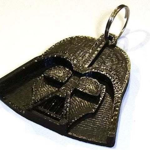 Télécharger modèle 3D gratuit Porte-clés Dark Vador.... Vos clés du côté obscur !, Muzz64