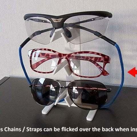 d5d70fe29806e2a76018d156f0f78ac9_display_large.jpg Download free STL file Universal Glasses Stand • 3D print design, Muzz64