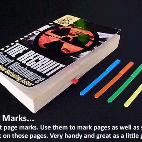 Télécharger STL gratuit Marques de position..... Marquer les pages et les endroits sur les pages, Muzz64