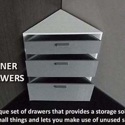 Download free STL file Corner Drawers, Muzz64