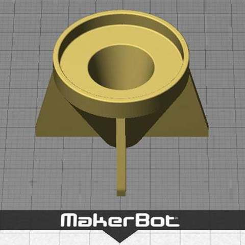 build-plate_display_large.jpg Download free STL file Sauce Saver - Inverts bottles with a nozzle to minimize waste • 3D printable model, Muzz64