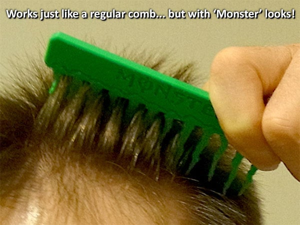 11c46db429a098d8d3c03e6e60c2fb09_display_large.jpg Download free STL file 'Monster' Comb • Object to 3D print, Muzz64