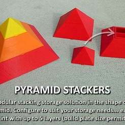 Download free STL file Pyramid Stacker, Muzz64