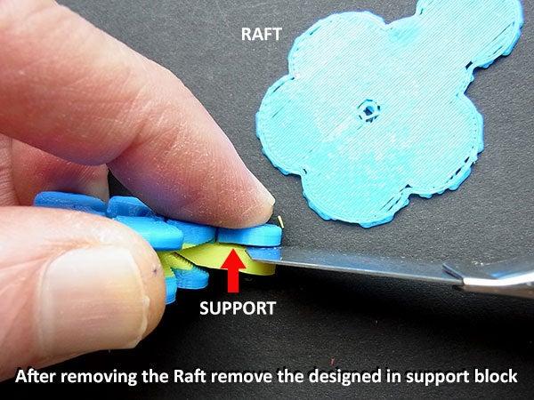 support_display_large.jpg Télécharger fichier STL gratuit Fleurs Fobs..... Des porte-clés Flower qui tournent ! • Modèle pour impression 3D, Muzz64