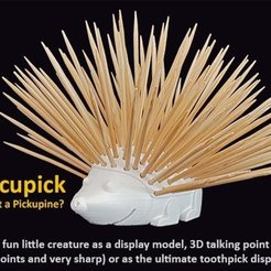 Download free 3D print files Porcupick, Muzz64