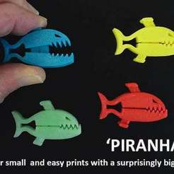 Download free STL files PIRANHAZ, Muzz64