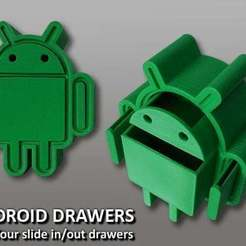 Download free 3D printer designs Android Drawers, Muzz64