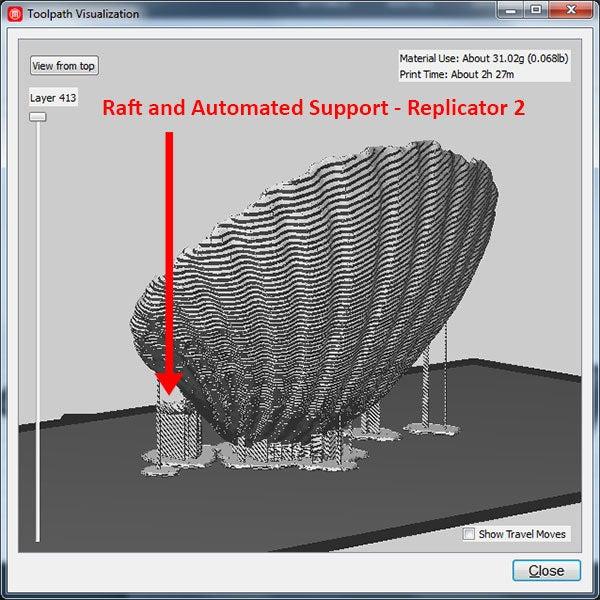 raft-support_display_large.jpg Télécharger fichier STL gratuit Coquillage - Numériseur MultiScan • Plan pour imprimante 3D, Muzz64