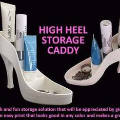 2336e32a89670c553f9863f993f0691d_display_large.jpg Download free STL file High Heel Storage Caddy • 3D printing template, Muzz64