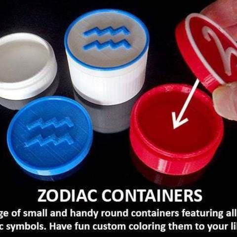 Descargar diseños 3D gratis Contenedores Zodiac, Muzz64