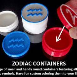 Free 3D model Zodiac Containers, Muzz64