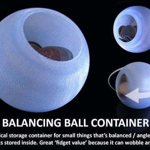 Télécharger objet 3D gratuit Conteneur à balles d'équilibrage, Muzz64