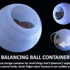 Download free STL Balancing Ball Container, Muzz64