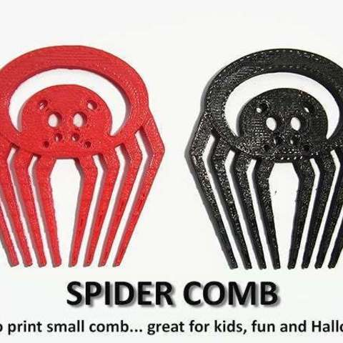 Download free 3D print files SPIDER COMB, Muzz64