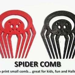 Free 3D model SPIDER COMB, Muzz64