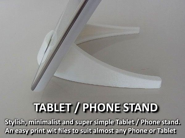 027b5143a19395088922cebc2abe35ea_display_large.jpg Télécharger fichier STL gratuit Tablette / Support Téléphone • Modèle à imprimer en 3D, Muzz64