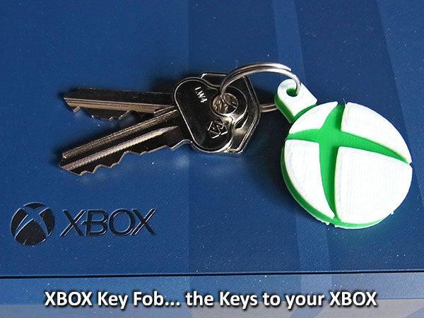 xbox_1_display_large.jpg Télécharger fichier STL gratuit Porte-clés XBOX • Design imprimable en 3D, Muzz64