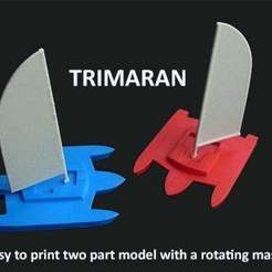 Download free 3D printer files Trimaran, Muzz64