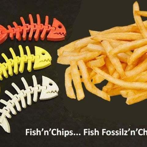 6a6918bbc4c72807fb43002f71b53846_display_large.jpg Download free STL file Fish Fossilz • 3D printing template, Muzz64