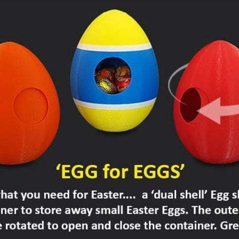 Download free 3D print files Egg for Eggs, Muzz64