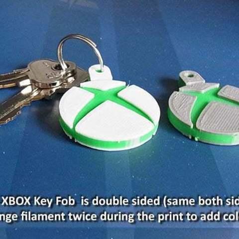 xbox_3_display_large.jpg Télécharger fichier STL gratuit Porte-clés XBOX • Design imprimable en 3D, Muzz64