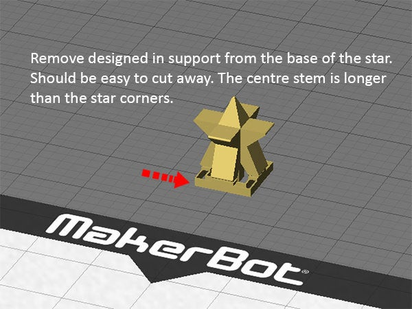 support_display_large.jpg Download free STL file Christmas Tree - Your own personal mini 3D printed Christmas tree with coloured decorations! • Object to 3D print, Muzz64