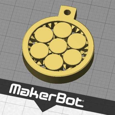 r_front_display_large.jpg Download free STL file Key Fob / 3D Demo Print - Interlocking rotating gears • 3D printable design, Muzz64