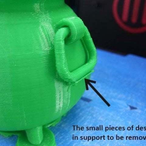 6c05f4a3c209df7fc3872304089b20bb_display_large.jpg Download free STL file Irish Pot of Gold • 3D printing object, Muzz64