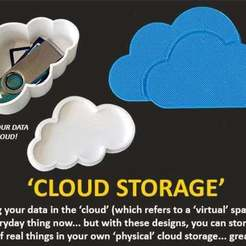 Download free 3D model Cloud Storage, Muzz64