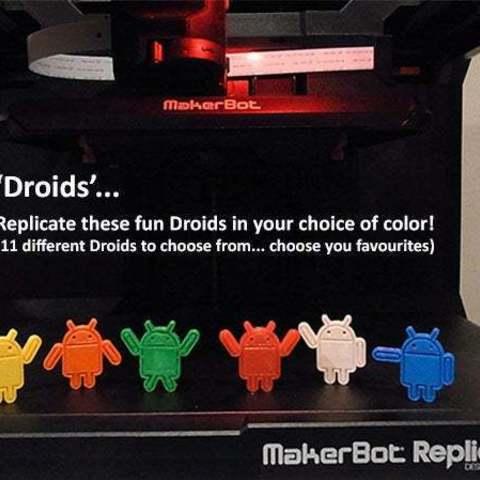 droids_main_display_large.jpg Download free STL file Droids • 3D printable template, Muzz64